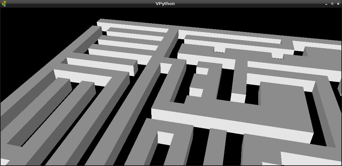 vpython_maze